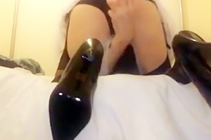 Fabulous homemade shemale scene with Solo, Fetish scenes